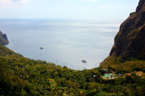 St. Lucia - between pitons