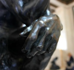 Rodin Museum detail of hand