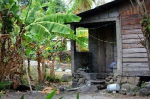 St Lucia - village