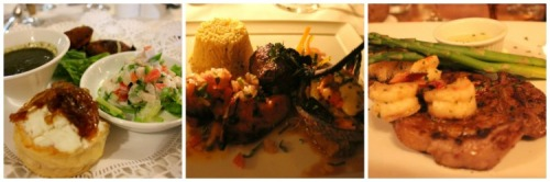 St Lucia - food collage 2