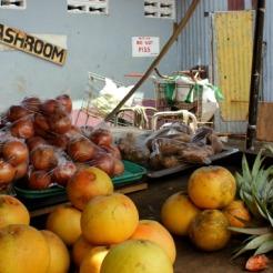 Castries market fruit