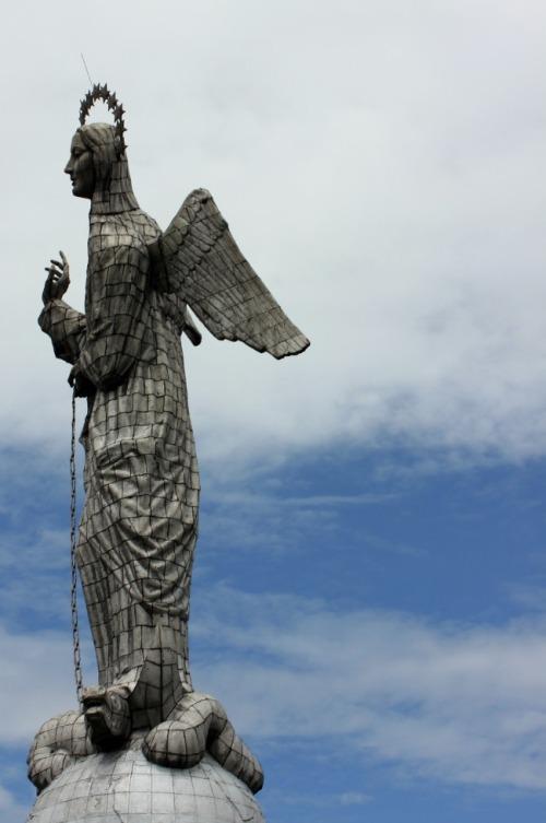 Ecuador - Quito's El Panecillo Madonna