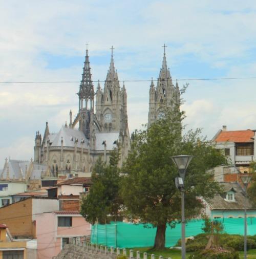 Ecuador - Quito gothic cathedral