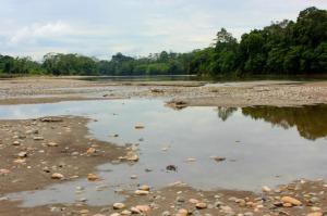 Ecuador - Napo River sand