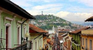 Ecuador - Quito skyline