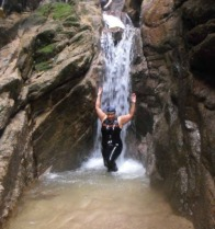 W waterfall