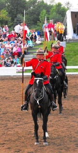 RCMP Musical Ride in Ottawa