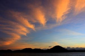 Ecuador - Galapagos sky