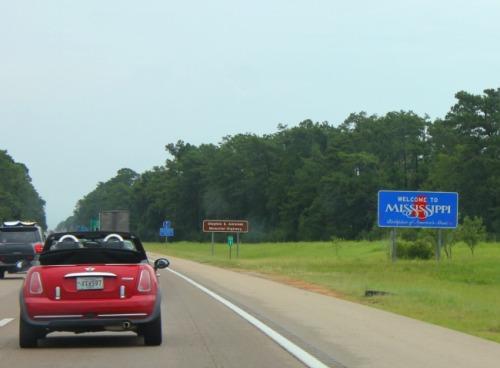 New Orleans - beach road trip