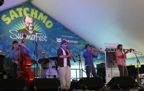 New Orleans - Dukes at Satchmofest