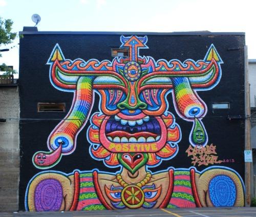 Montreal - Mural Festival Dyer