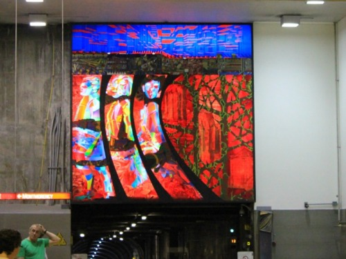 Montreal - subway art
