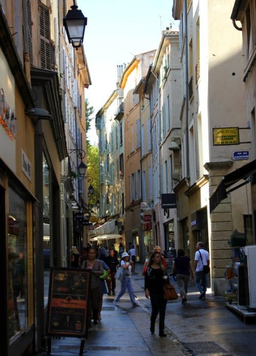 France - Aix downtown