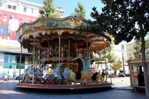 France - Marseille carousel