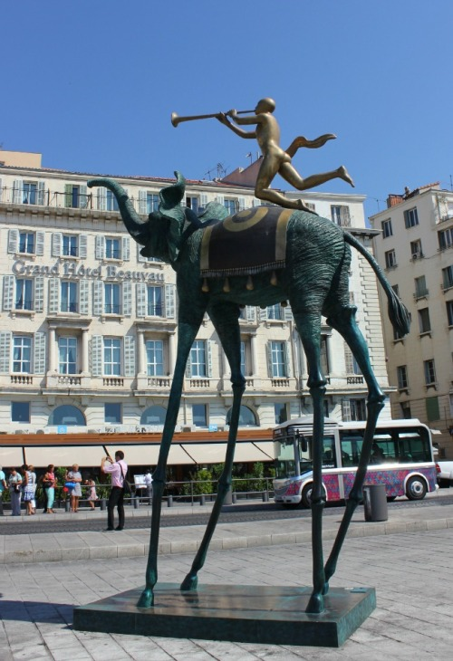 France - Marseille Dali sculpture
