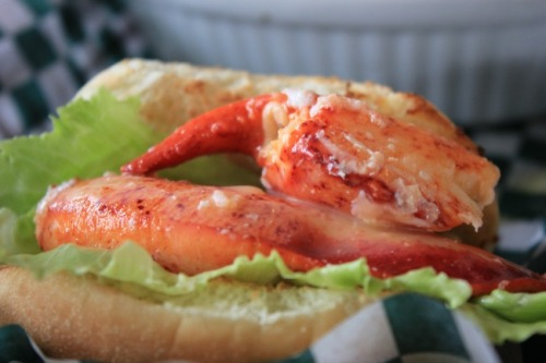 NS - Rusty Anchor lobster roll