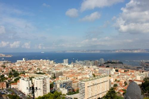 France - Marseille skyline
