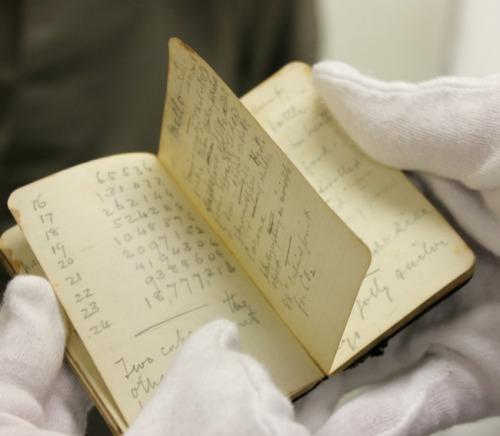 NS - AG Bell notebook