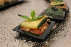 zucchini canape