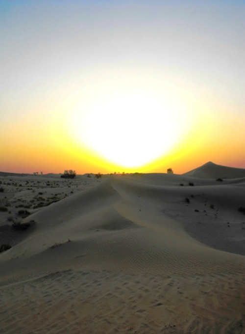 UAE - AD sunset