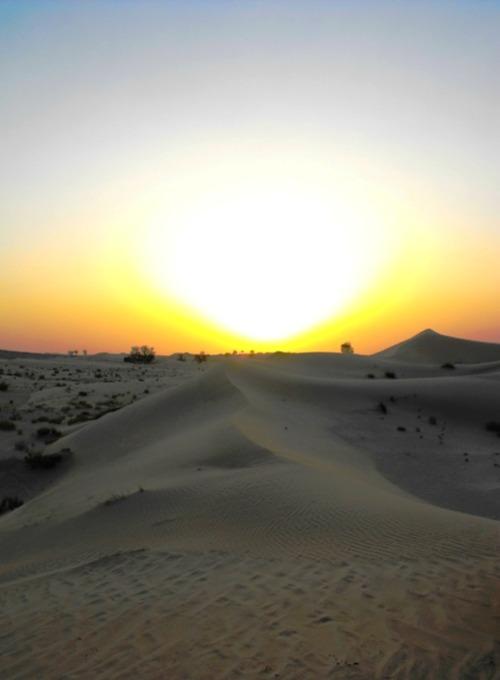 UAE - AD sunset