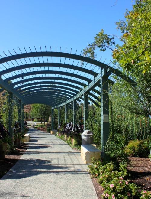 Dallas - Arboretum archway