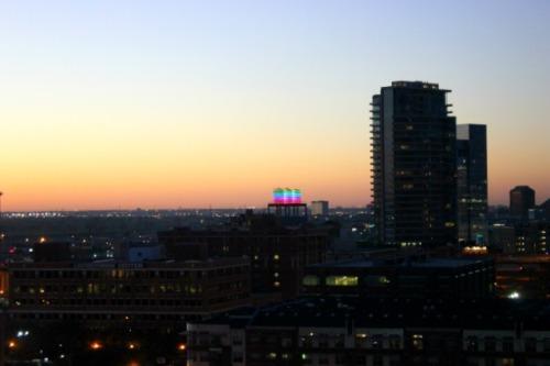 Dallas - sunset colour