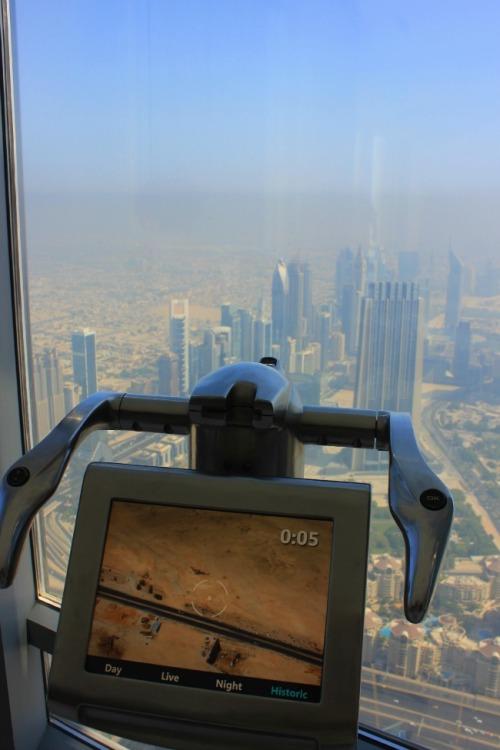 UAE - Burj Khalifa desert