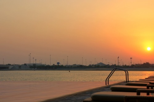 UAE - AD infinity sunset