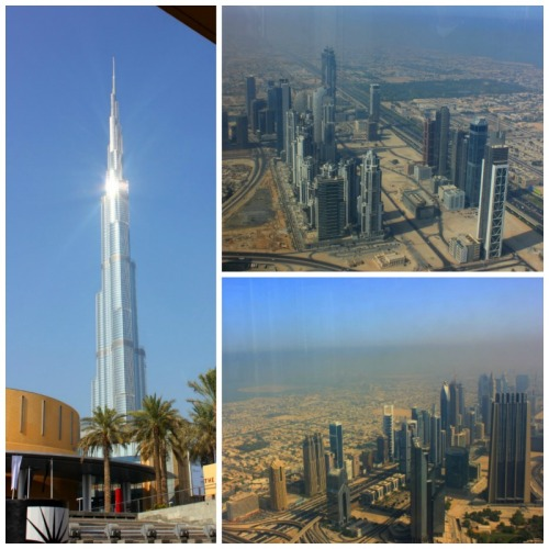 UAE - Burj Khalifa collage