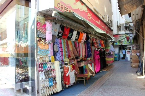 UAE - Dubai clothing market