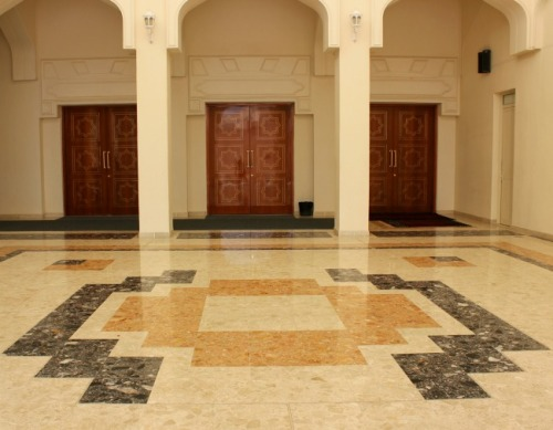 UAE - Dubai Jumeirah mosque entrance