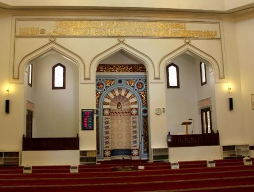 UAE - Dubai Jumeirah mosque mihrab