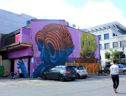 Montreal - Botkin mural