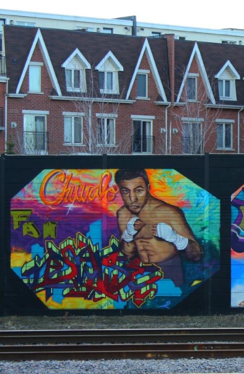 Toronto - Chuvalo graffiti