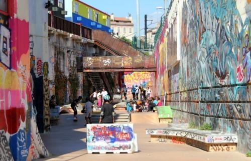 Marseille - La Friche skatepark 2