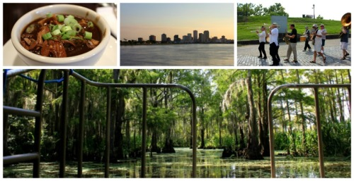 New Orleans - summer collage a