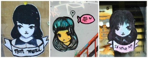 Montreal - three ladies