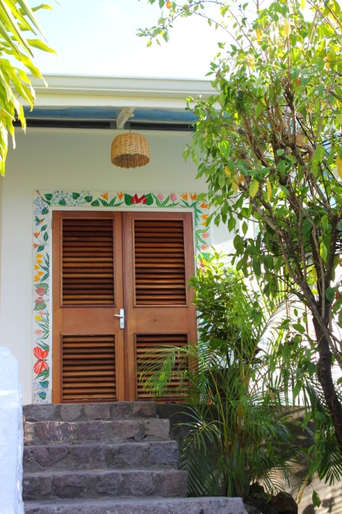 St Lucia - AC door