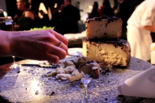 Niagara - Icewine festival cheese plate