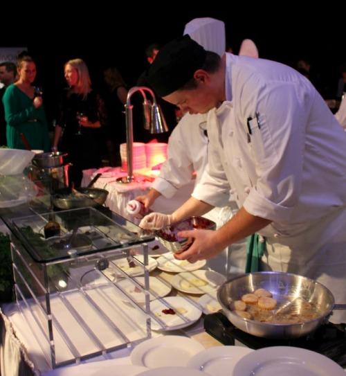 Niagara Icewine festival chefs