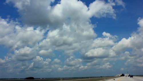 Mississippi - highway clouds