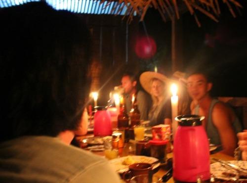 Ecuador - rainforest dinner