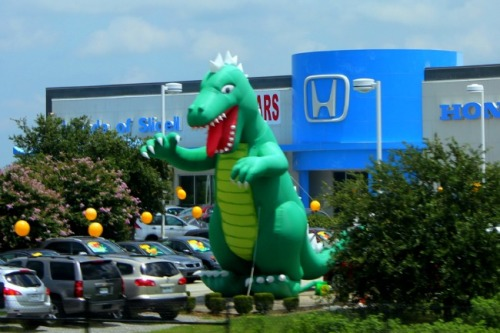 Louisiana - highway dragon