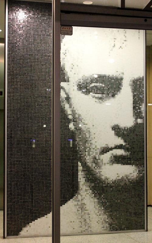 Dallas - mosaic face