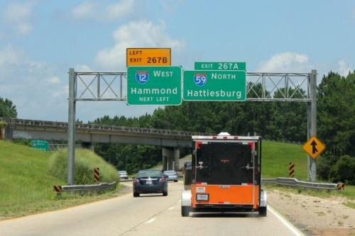 Louisiana - highway