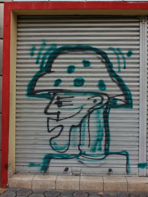 Quito - graffiti profile