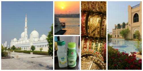 Abu Dhabi collage