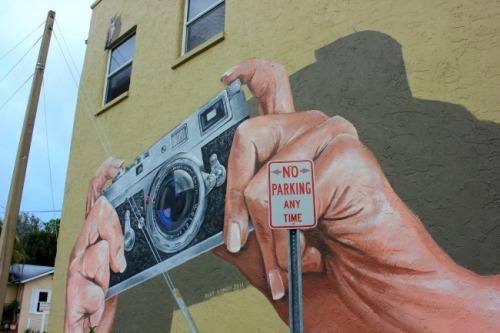 Florida - Sarasota camera mural
