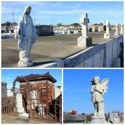cemetery trio